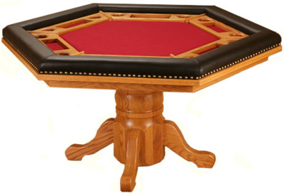 Poker Table Plans Octagon